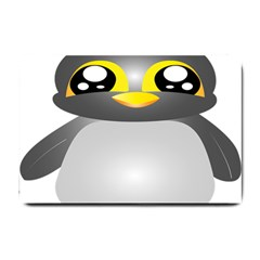Cute Penguin Animal Small Doormat  by Nexatart