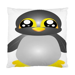 Cute Penguin Animal Standard Cushion Case (two Sides) by Nexatart