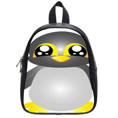 Cute Penguin Animal School Bag (small)