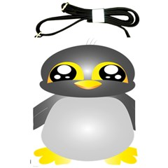 Cute Penguin Animal Shoulder Sling Bags by Nexatart