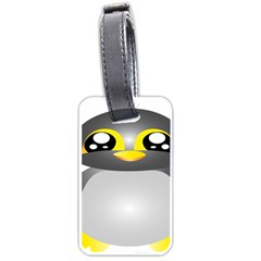 Cute Penguin Animal Luggage Tags (one Side)