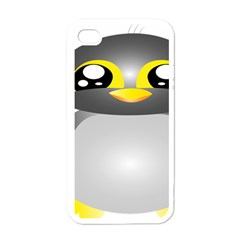 Cute Penguin Animal Apple Iphone 4 Case (white)