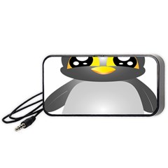 Cute Penguin Animal Portable Speaker (black)