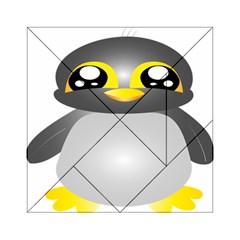Cute Penguin Animal Acrylic Tangram Puzzle (6  X 6 )