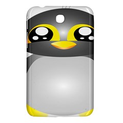 Cute Penguin Animal Samsung Galaxy Tab 3 (7 ) P3200 Hardshell Case  by Nexatart