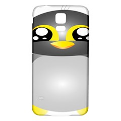 Cute Penguin Animal Samsung Galaxy S5 Back Case (white)