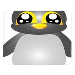 Cute Penguin Animal Double Sided Flano Blanket (large)  by Nexatart