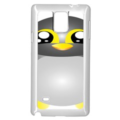 Cute Penguin Animal Samsung Galaxy Note 4 Case (white)