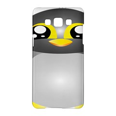 Cute Penguin Animal Samsung Galaxy A5 Hardshell Case  by Nexatart