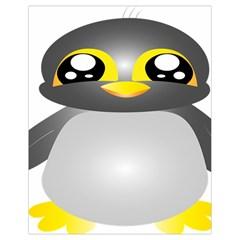 Cute Penguin Animal Drawstring Bag (small)