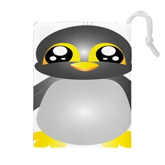 Cute Penguin Animal Drawstring Pouches (extra Large)