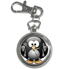 Penguin Birds Aquatic Flightless Key Chain Watches by Nexatart
