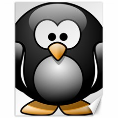 Penguin Birds Aquatic Flightless Canvas 12  X 16