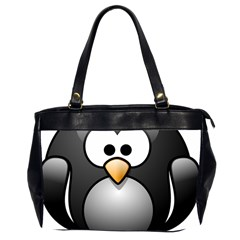 Penguin Birds Aquatic Flightless Office Handbags (2 Sides)