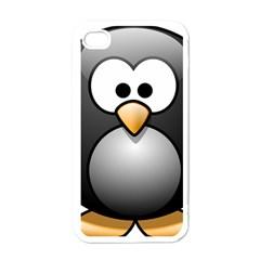 Penguin Birds Aquatic Flightless Apple Iphone 4 Case (white)