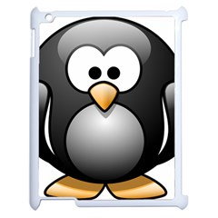 Penguin Birds Aquatic Flightless Apple Ipad 2 Case (white) by Nexatart