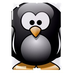 Penguin Birds Aquatic Flightless Apple Ipad 3/4 Hardshell Case (compatible With Smart Cover)