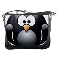 Penguin Birds Aquatic Flightless Messenger Bags