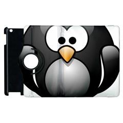 Penguin Birds Aquatic Flightless Apple Ipad 2 Flip 360 Case
