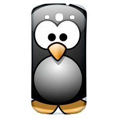 Penguin Birds Aquatic Flightless Samsung Galaxy S3 S Iii Classic Hardshell Back Case by Nexatart