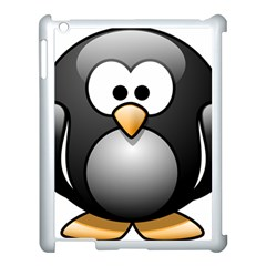 Penguin Birds Aquatic Flightless Apple Ipad 3/4 Case (white)