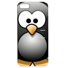 Penguin Birds Aquatic Flightless Apple Iphone 5 Hardshell Case With Stand by Nexatart