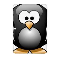 Penguin Birds Aquatic Flightless Samsung Galaxy Tab 2 (10 1 ) P5100 Hardshell Case