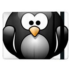 Penguin Birds Aquatic Flightless Samsung Galaxy Tab Pro 12 2  Flip Case