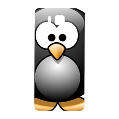 Penguin Birds Aquatic Flightless Samsung Galaxy Alpha Hardshell Back Case by Nexatart
