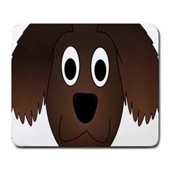 Dog Pup Animal Canine Brown Pet Large Mousepads by Nexatart