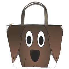 Dog Pup Animal Canine Brown Pet Bucket Bags