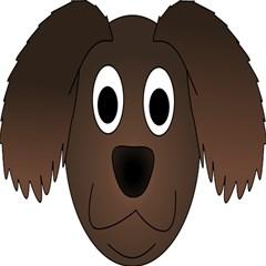 Dog Pup Animal Canine Brown Pet Magic Photo Cubes by Nexatart