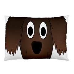 Dog Pup Animal Canine Brown Pet Pillow Case (two Sides)