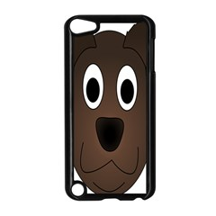 Dog Pup Animal Canine Brown Pet Apple Ipod Touch 5 Case (black)