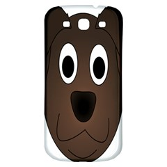 Dog Pup Animal Canine Brown Pet Samsung Galaxy S3 S Iii Classic Hardshell Back Case by Nexatart