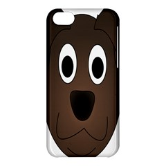 Dog Pup Animal Canine Brown Pet Apple Iphone 5c Hardshell Case