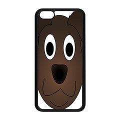 Dog Pup Animal Canine Brown Pet Apple Iphone 5c Seamless Case (black)