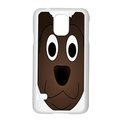 Dog Pup Animal Canine Brown Pet Samsung Galaxy S5 Case (white)