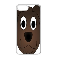 Dog Pup Animal Canine Brown Pet Apple Iphone 7 Plus White Seamless Case