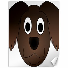 Dog Pup Animal Canine Brown Pet Canvas 12  X 16