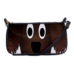 Dog Pup Animal Canine Brown Pet Shoulder Clutch Bags by Nexatart