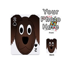 Dog Pup Animal Canine Brown Pet Playing Cards 54 (mini)