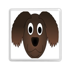 Dog Pup Animal Canine Brown Pet Memory Card Reader (square)  by Nexatart