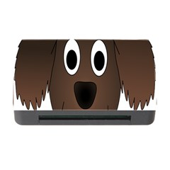 Dog Pup Animal Canine Brown Pet Memory Card Reader With Cf by Nexatart