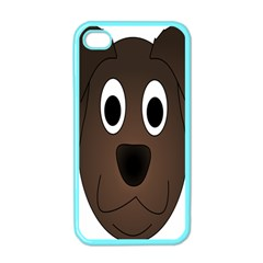 Dog Pup Animal Canine Brown Pet Apple Iphone 4 Case (color)