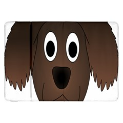 Dog Pup Animal Canine Brown Pet Samsung Galaxy Tab 8 9  P7300 Flip Case by Nexatart