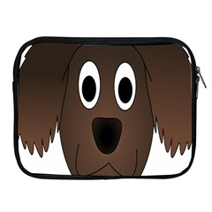 Dog Pup Animal Canine Brown Pet Apple Ipad 2/3/4 Zipper Cases