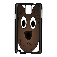 Dog Pup Animal Canine Brown Pet Samsung Galaxy Note 3 N9005 Case (black) by Nexatart