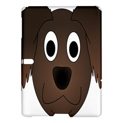 Dog Pup Animal Canine Brown Pet Samsung Galaxy Tab S (10 5 ) Hardshell Case  by Nexatart
