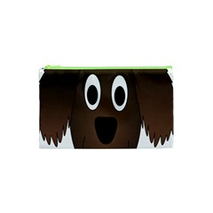 Dog Pup Animal Canine Brown Pet Cosmetic Bag (xs)